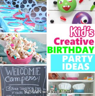 Kid's Birthday Party Ideas!