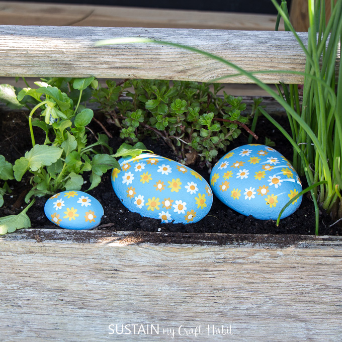 How to Paint on Rocks for Outdoors!