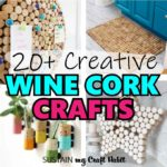 round up image of wine cork project ideas