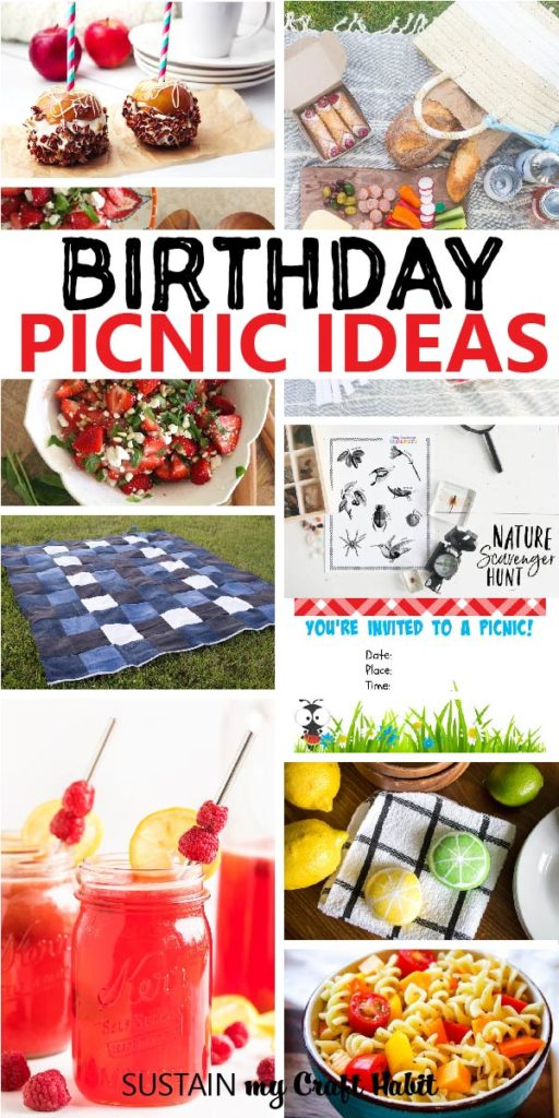 round up of birthday picnic ideas to try for your next outdoor gathering