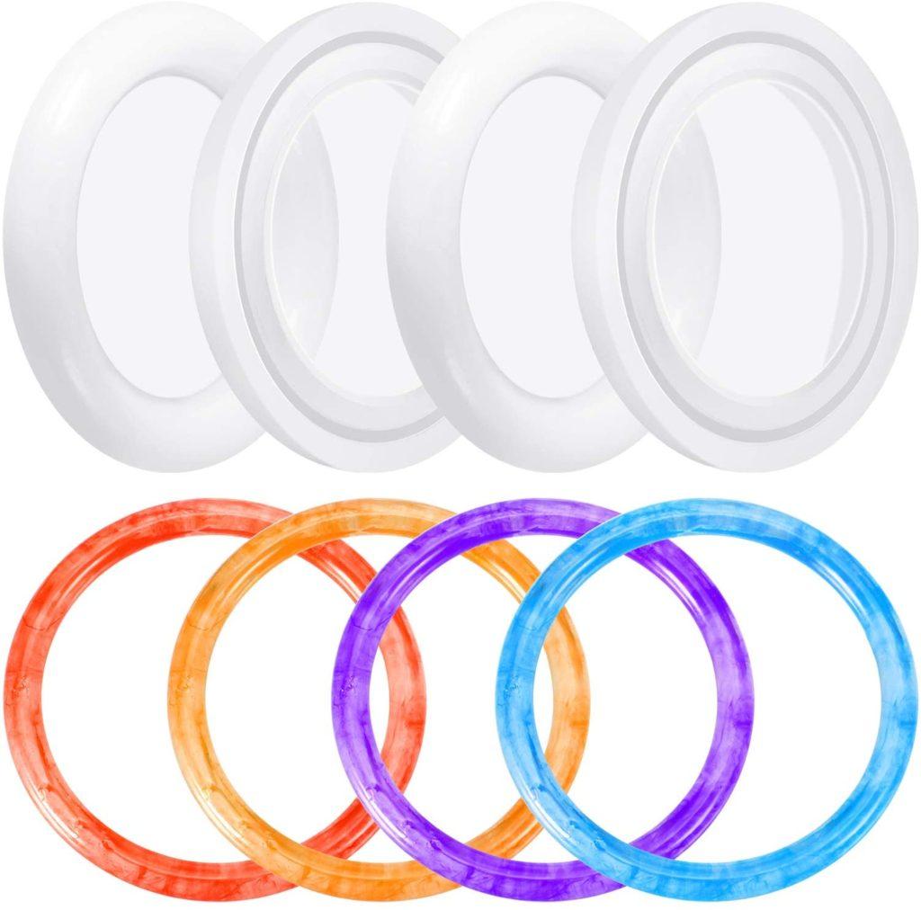 silicone bracelet molds.