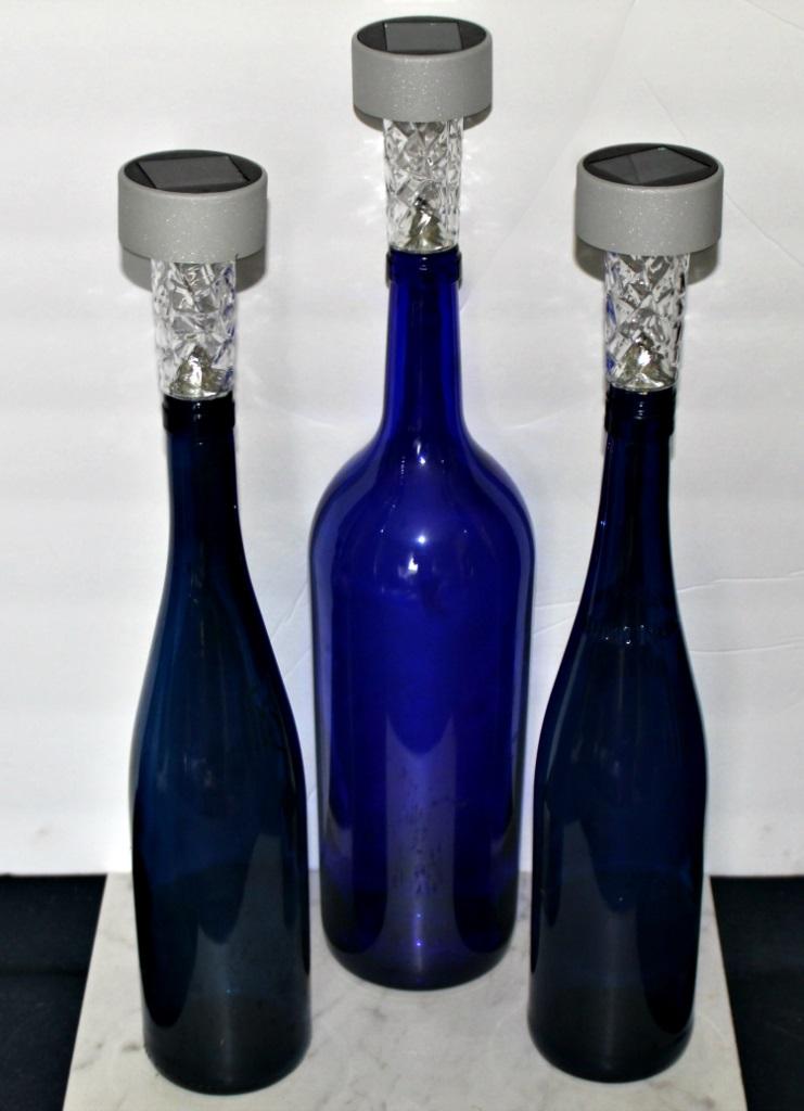 wine bottle solar lights