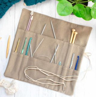 knitting needle storage solution