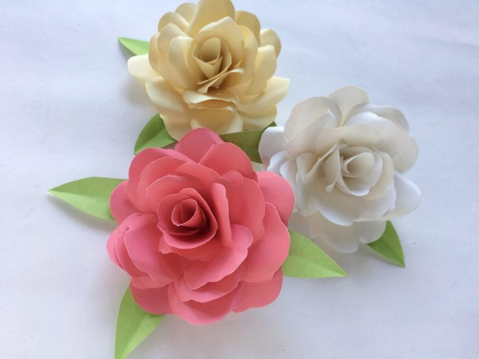Cool paper crafts Roses