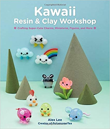 Book cover about resin and clay workshop.