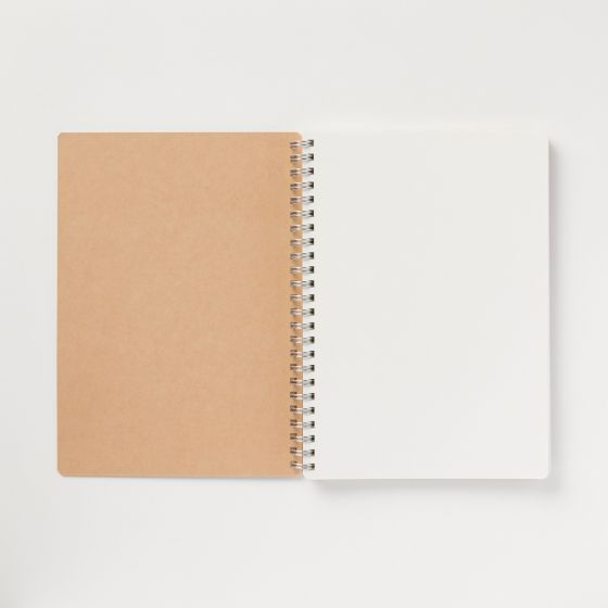 Open notebook.