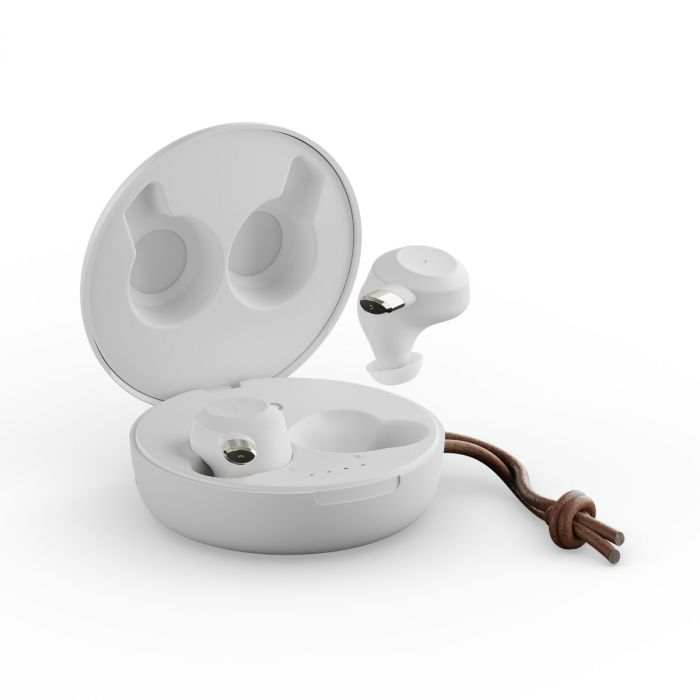 Sudio headphones in a white case.