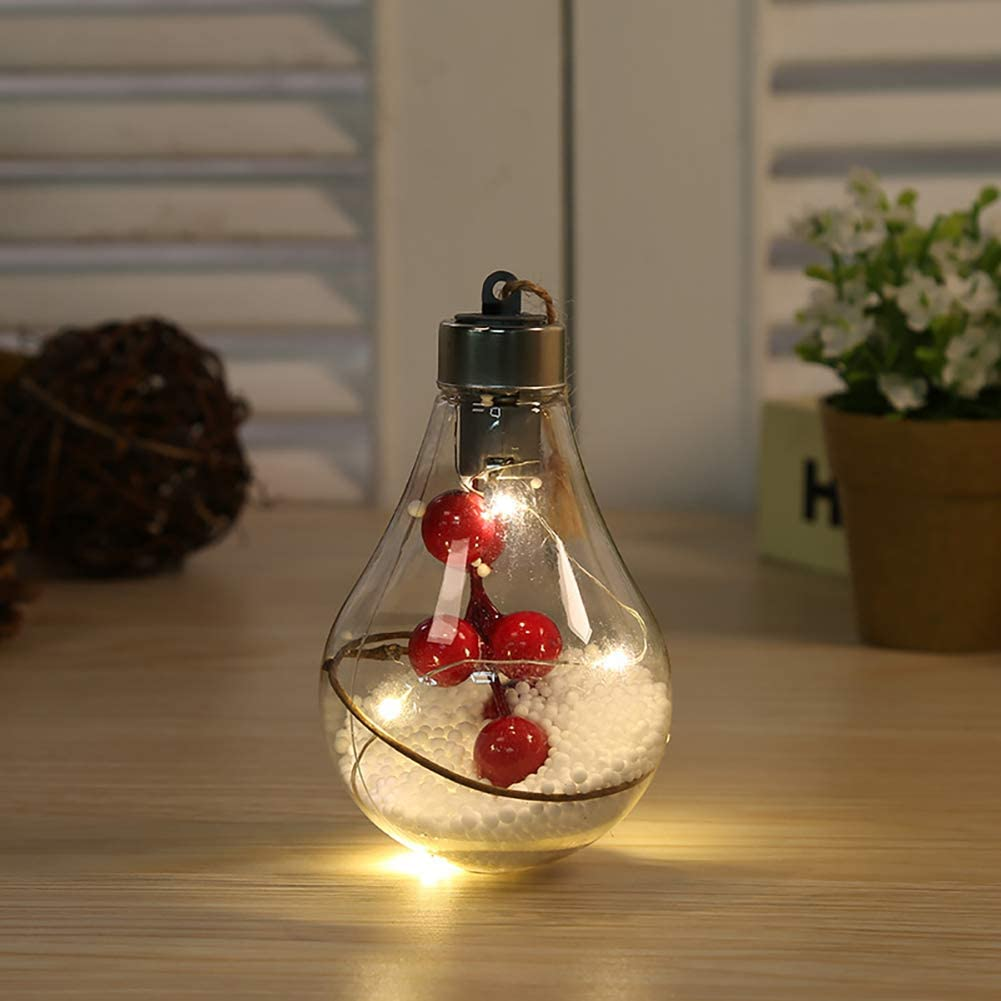 Outoodr Light bulb ornament.