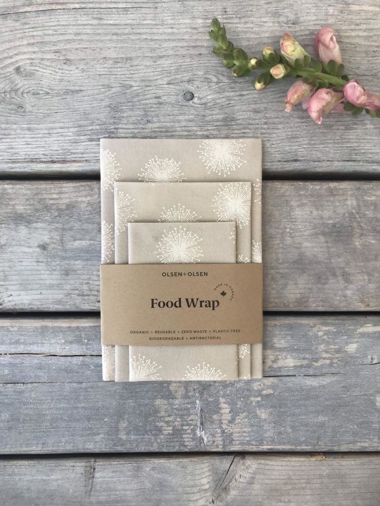 Packaged beeswax wraps.