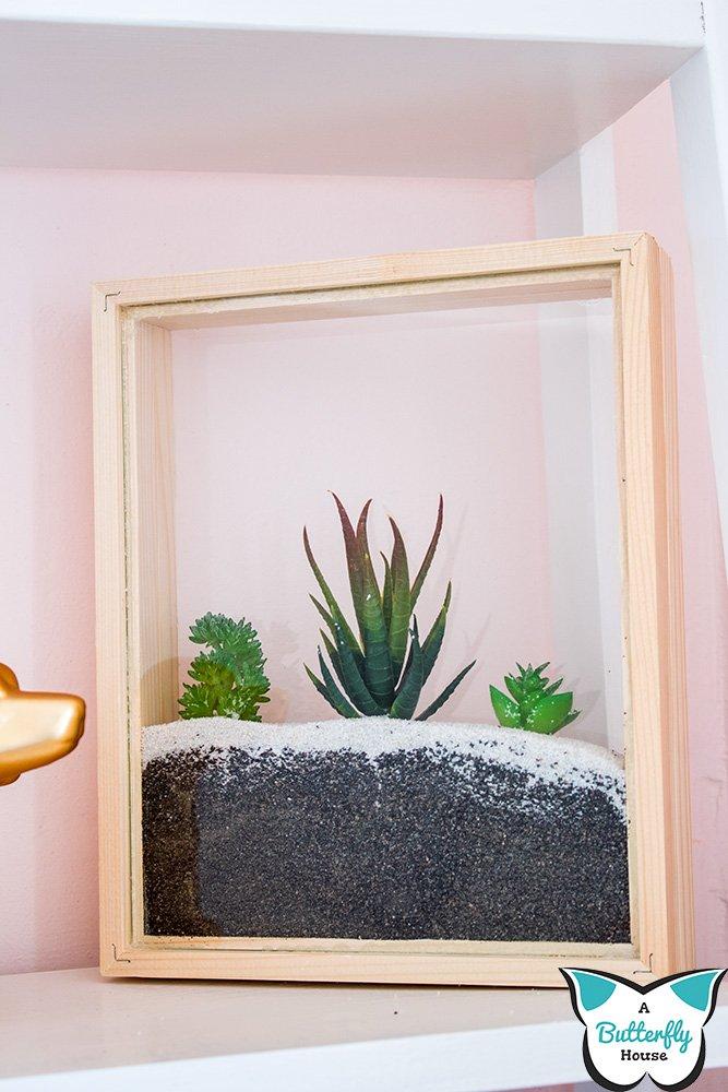 cool craft succulent planter.