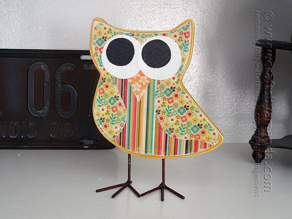 cool paper crafts scrapbook owl