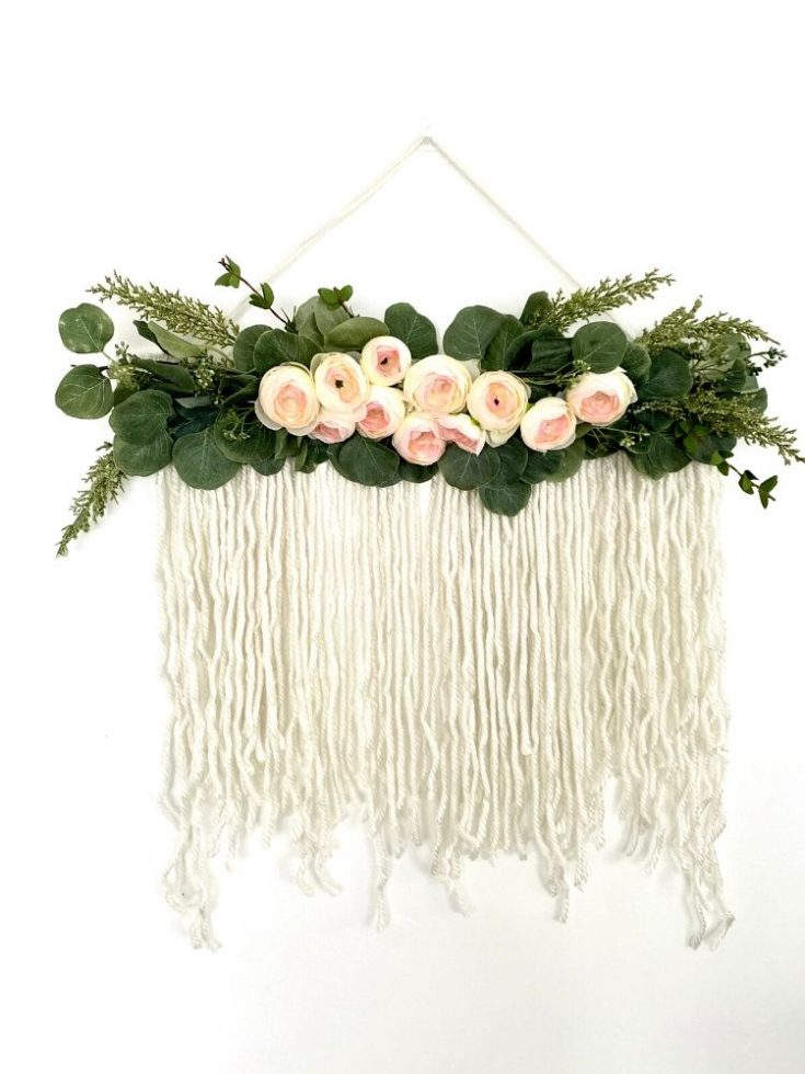 Cool craft wall hanging.