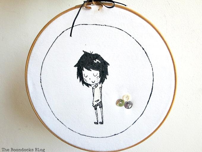 cool crafts tshirt wall art.