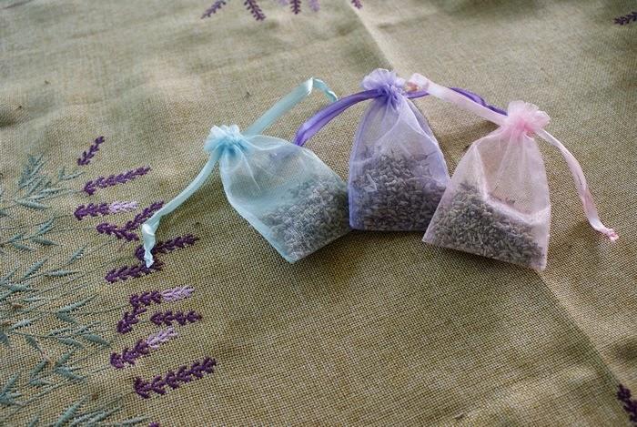 lavender craft perfume bag