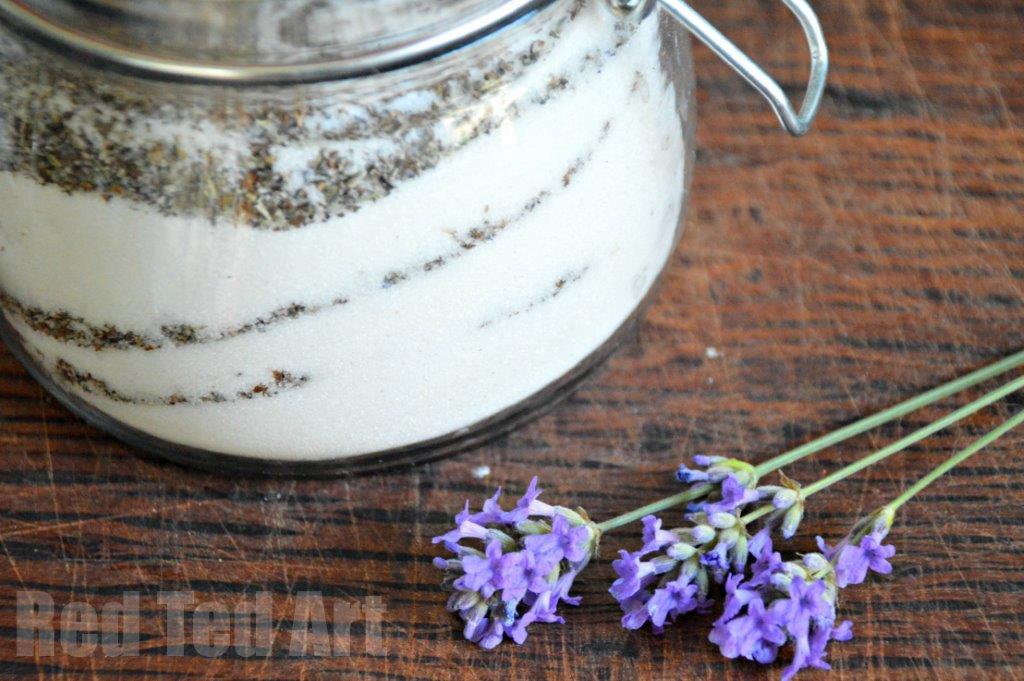 lavender craft sugar