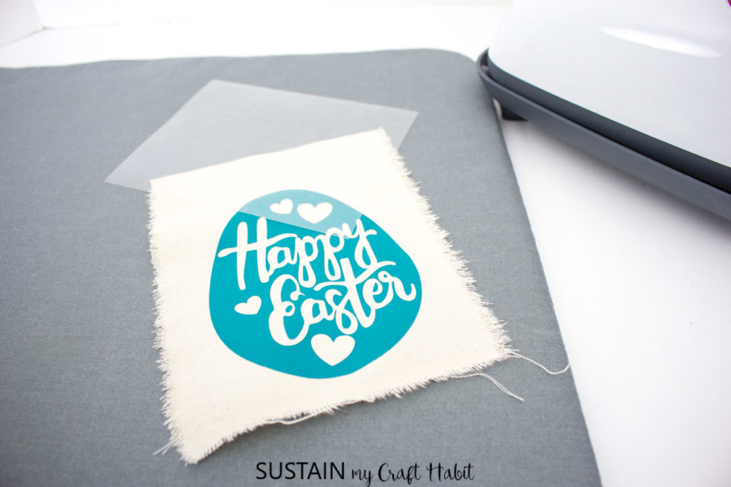 Mini happy Easter banner.